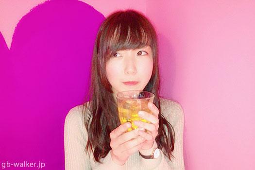 """""""ねね""""ちゃんはジャスミン杯、日本酒も好き!"""